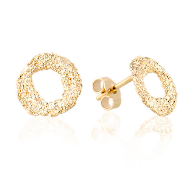 Alexandra Jacoumis 18kt Gold Mati Stud Earings Main
