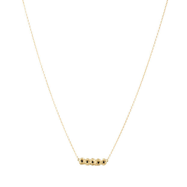 Alexandra Jacoumis 18kt Gold Shisha Line Necklace Main