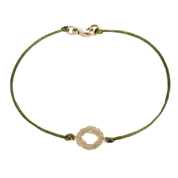 18kt-Gold-Mati-Bracelet-Olive-Green-Cord
