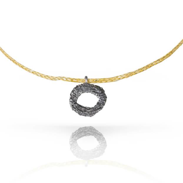 18kt-Black-Gold-Mati-Pendant